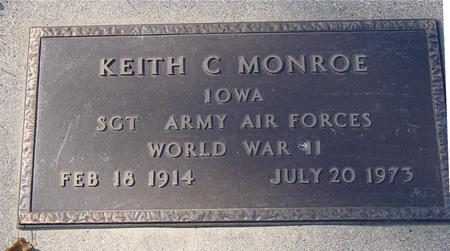 MONROE, KEITH C. - Sac County, Iowa | KEITH C. MONROE