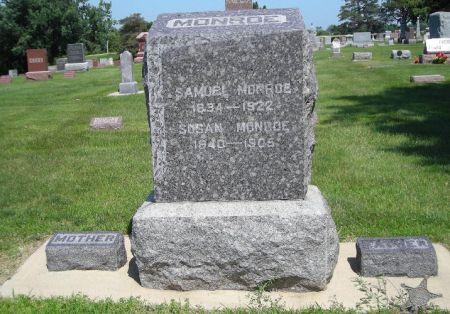 MONROE, SAMUEL - Sac County, Iowa   SAMUEL MONROE