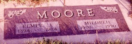 MOORE, MILDRED EDNA - Sac County, Iowa | MILDRED EDNA MOORE