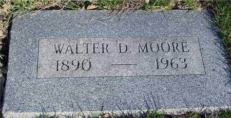 MOORE, WALTER D. - Sac County, Iowa   WALTER D. MOORE