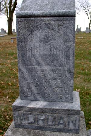 MORGAN, MARY E. - Sac County, Iowa | MARY E. MORGAN