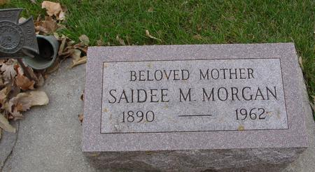 MORGAN, SAIDEE M. - Sac County, Iowa | SAIDEE M. MORGAN
