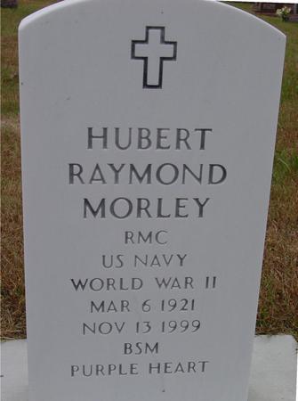 MORLEY, HUBERT RAYMOND - Sac County, Iowa | HUBERT RAYMOND MORLEY