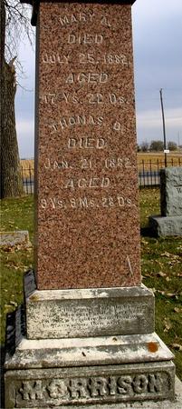 MORRISON, THOMAS & MARY - Sac County, Iowa | THOMAS & MARY MORRISON