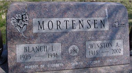 MORTENSEN, WINSTON & BLANCH - Sac County, Iowa | WINSTON & BLANCH MORTENSEN