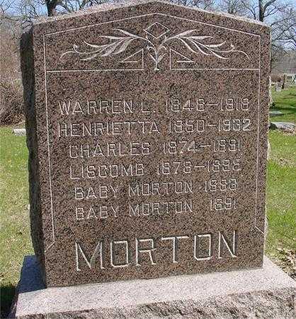 MORTON, WARREN & HENRIETTA - Sac County, Iowa   WARREN & HENRIETTA MORTON