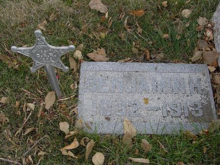 MUMMEY, BENJAMIN H. - Sac County, Iowa | BENJAMIN H. MUMMEY