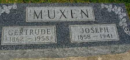 MUXEN, JOSEPH & GERTRUDE - Sac County, Iowa | JOSEPH & GERTRUDE MUXEN
