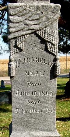 NEAL, WM. FRANKLIN - Sac County, Iowa | WM. FRANKLIN NEAL