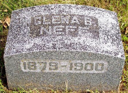 NEFF, GLENA BELLE - Sac County, Iowa   GLENA BELLE NEFF