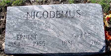 NICODEMUS, ERNEST & GRACE - Sac County, Iowa | ERNEST & GRACE NICODEMUS