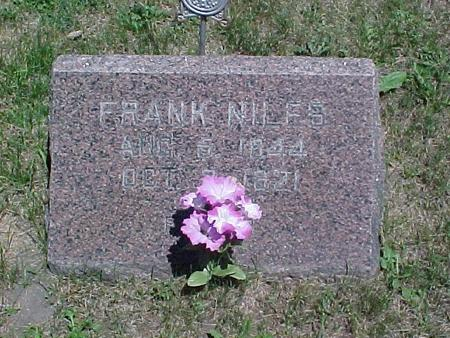 NILES, WM. FRANK - Sac County, Iowa | WM. FRANK NILES