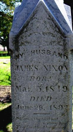 NIXON, JAMES - Sac County, Iowa   JAMES NIXON
