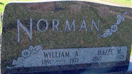 NORMAN, WILLIAM A. - Sac County, Iowa | WILLIAM A. NORMAN
