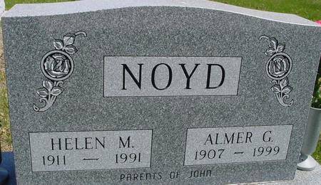 NOYD, ALMER & HELEN - Sac County, Iowa   ALMER & HELEN NOYD