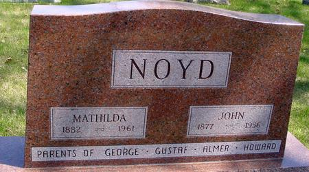 NOYD, JOHN & MATHILDA - Sac County, Iowa | JOHN & MATHILDA NOYD