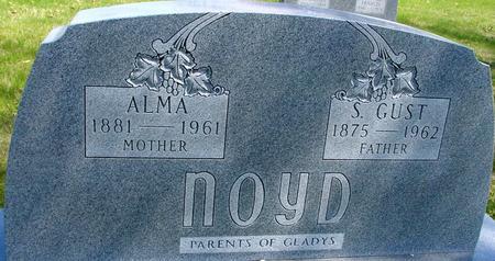 NOYD, S. GUST & ALMA - Sac County, Iowa   S. GUST & ALMA NOYD