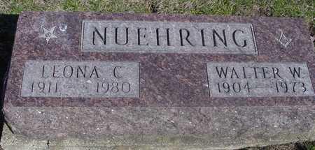 NUEHRING, WALTER & LEONA C. - Sac County, Iowa | WALTER & LEONA C. NUEHRING