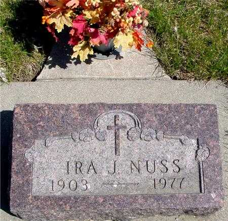 NUSS, IRA J. - Sac County, Iowa | IRA J. NUSS