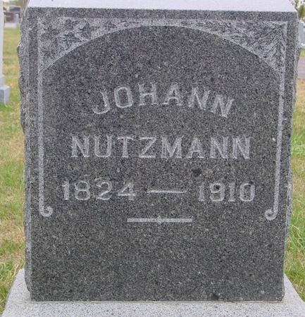 NUTZMANN, JOHANN - Sac County, Iowa | JOHANN NUTZMANN