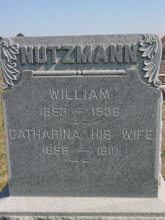 NUTZMANN, WILLIAM & CATHARINA - Sac County, Iowa | WILLIAM & CATHARINA NUTZMANN