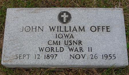 OFFE, JOHN WILLIAM - Sac County, Iowa | JOHN WILLIAM OFFE