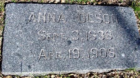 OLSON, ANNA - Sac County, Iowa | ANNA OLSON