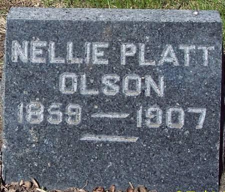 OLSON, NELLIE - Sac County, Iowa | NELLIE OLSON
