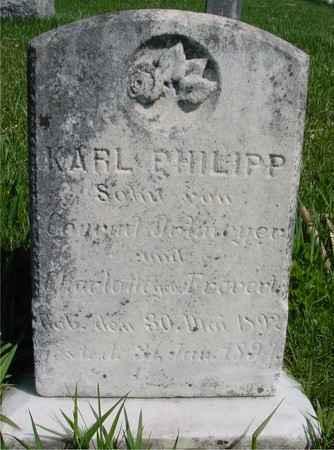 ORTMEYER, KARL PHILIPP - Sac County, Iowa   KARL PHILIPP ORTMEYER
