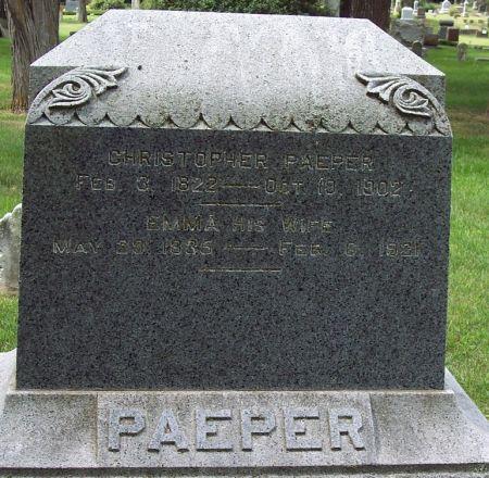 PAEPER, CHRISTOPHER - Sac County, Iowa | CHRISTOPHER PAEPER