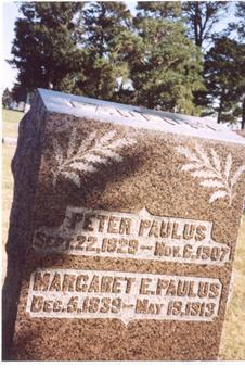 PAULUS, PETER & MARGARET - Sac County, Iowa   PETER & MARGARET PAULUS