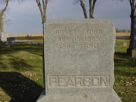 PEARSON, ROSETT - Sac County, Iowa | ROSETT PEARSON