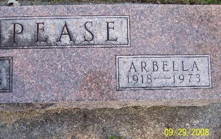 PEASE, ARBELLA - Sac County, Iowa | ARBELLA PEASE