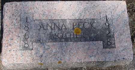 PECK, ANNA - Sac County, Iowa   ANNA PECK
