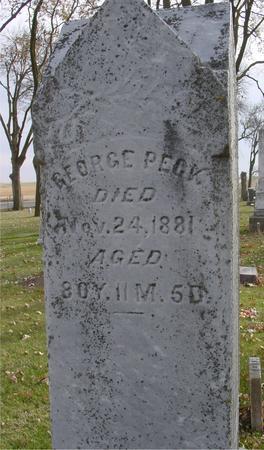 PECK, GEORGE - Sac County, Iowa | GEORGE PECK