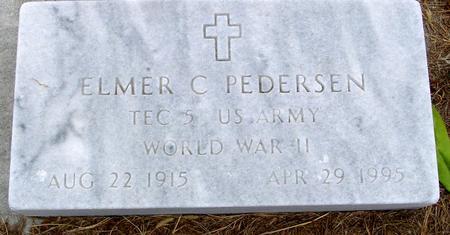 PEDERSEN, ELMER C. - Sac County, Iowa | ELMER C. PEDERSEN