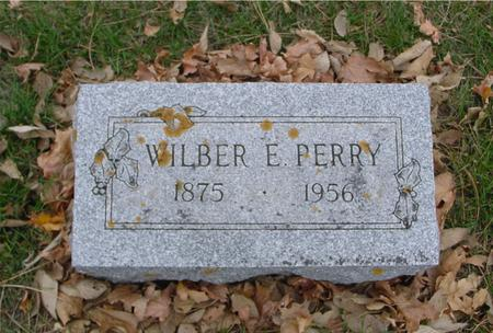 PERRY, WILBER E. - Sac County, Iowa | WILBER E. PERRY