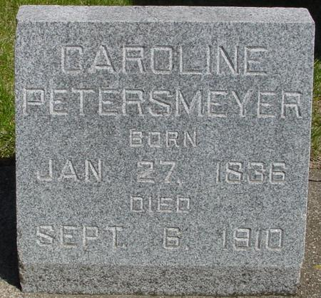 PETERSMEYER, CAROLINE - Sac County, Iowa   CAROLINE PETERSMEYER