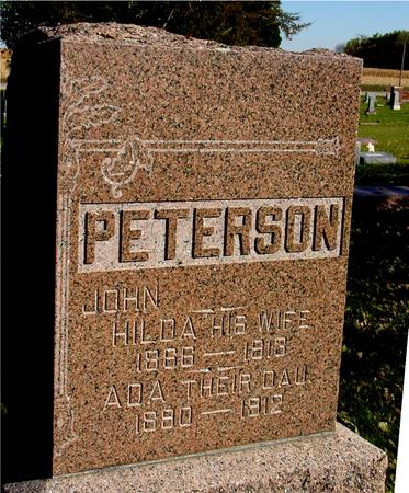 PETERSON, JOHN & HILDA - Sac County, Iowa | JOHN & HILDA PETERSON
