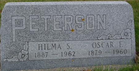 PETERSON, OSCAR & HILMA - Sac County, Iowa | OSCAR & HILMA PETERSON