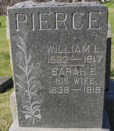 PIERCE, WILLIAM L. & SARAH - Sac County, Iowa | WILLIAM L. & SARAH PIERCE
