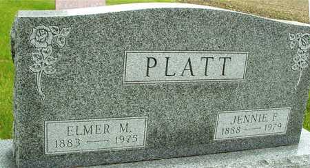 PLATT, ELMER & JENNIE - Sac County, Iowa | ELMER & JENNIE PLATT