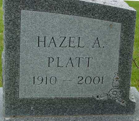 PLATT, HAZEL A. - Sac County, Iowa   HAZEL A. PLATT