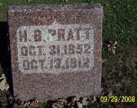 PRATT, H.B. - Sac County, Iowa | H.B. PRATT