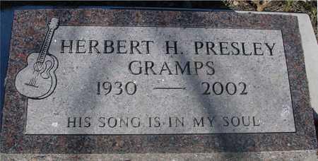 PRESLEY, HERBERT H. - Sac County, Iowa | HERBERT H. PRESLEY