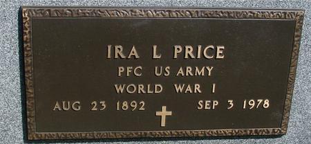 PRICE, IRA L. - Sac County, Iowa | IRA L. PRICE
