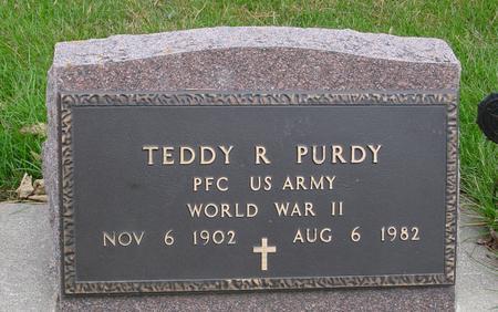 PURDY, TEDDY R. - Sac County, Iowa   TEDDY R. PURDY
