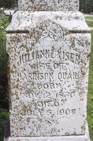 KISER QUAIL, JULIANNE - Sac County, Iowa | JULIANNE KISER QUAIL