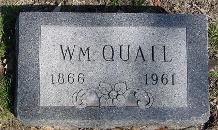 QUAIL, WILLIAM - Sac County, Iowa | WILLIAM QUAIL