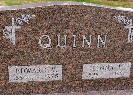 QUINN, EDWARD & LEONA - Sac County, Iowa | EDWARD & LEONA QUINN